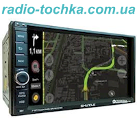 Автомагнитола SHUTTLE SDUA-7050 Black/Green