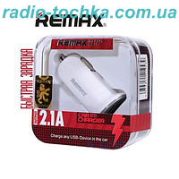 АЗУ 1USB 2.1A REMAX RC-C101 White